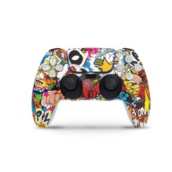 Sony Playstation 5 Controller - Stickerbomb Color Skin von EpicSkin
