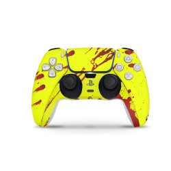 PS5 Controller Skin - Design Aufkleber Cyber Blood