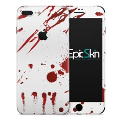 Zombie Blood White Folien für Smartphones für Apple IPhone 7 von EpicSkin